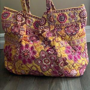 Large Vera Bradley tote bag
